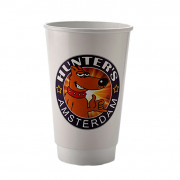 16oz double wall compostable, from 5,000 pcs