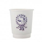 12oz double wall compostable, from 5,000 pcs