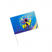 Paper hand flags, 150 g/m2